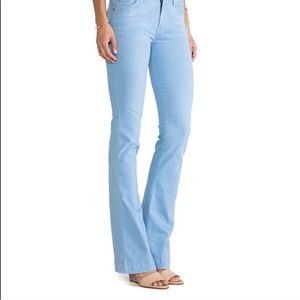 7FAMK Powder Blue Slim Trouser